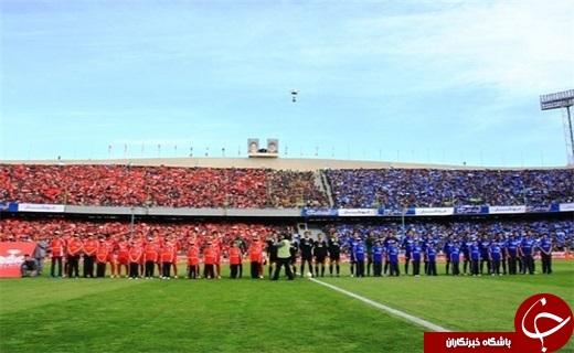 نتیجه خلاصه بازی و گلهای پرسپولیس استقلال دربی 82 جمعه 27 فروردین 95