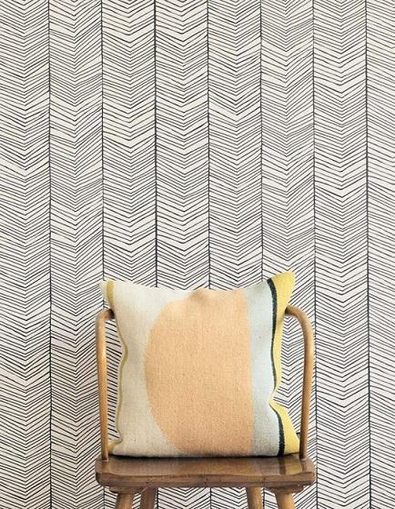 کاغذ دیواری طرح هندسی