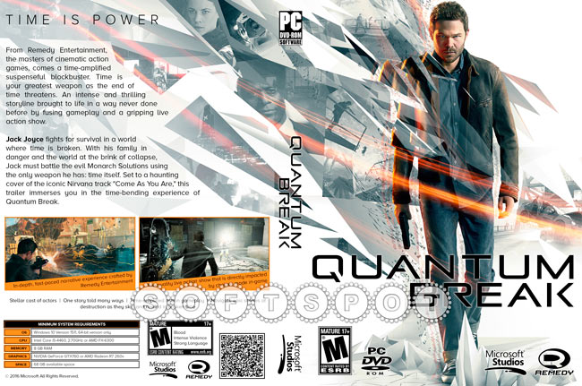 کاور بازی Quantum Break