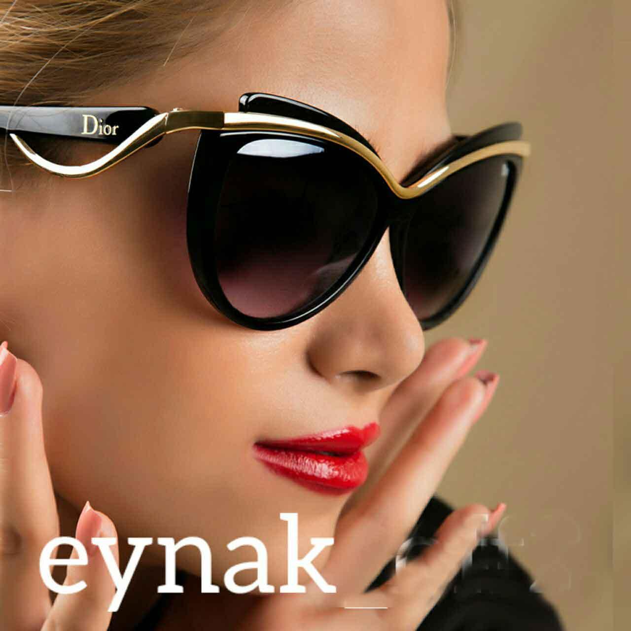 عینک دودی مارک دیور ارکید