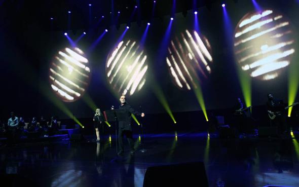 گزارش تصویری کنسرت 25 دسامبر لاس وگاس