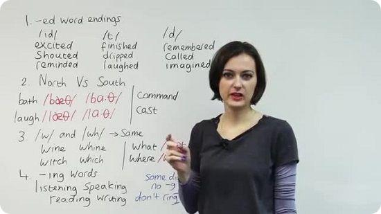 یادگیری تلفظ صحیح لغات انگلیسی