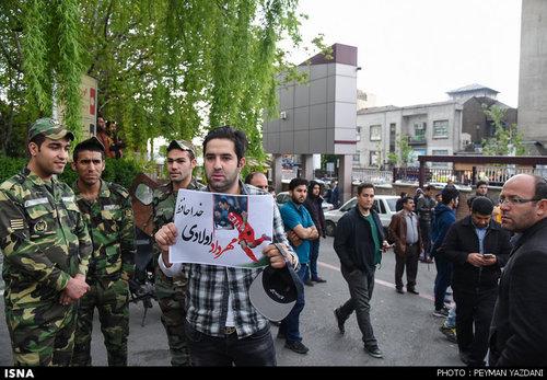 تشییع جنازه و خاکسپاری مهرداد اولادی+فیلم و عکس