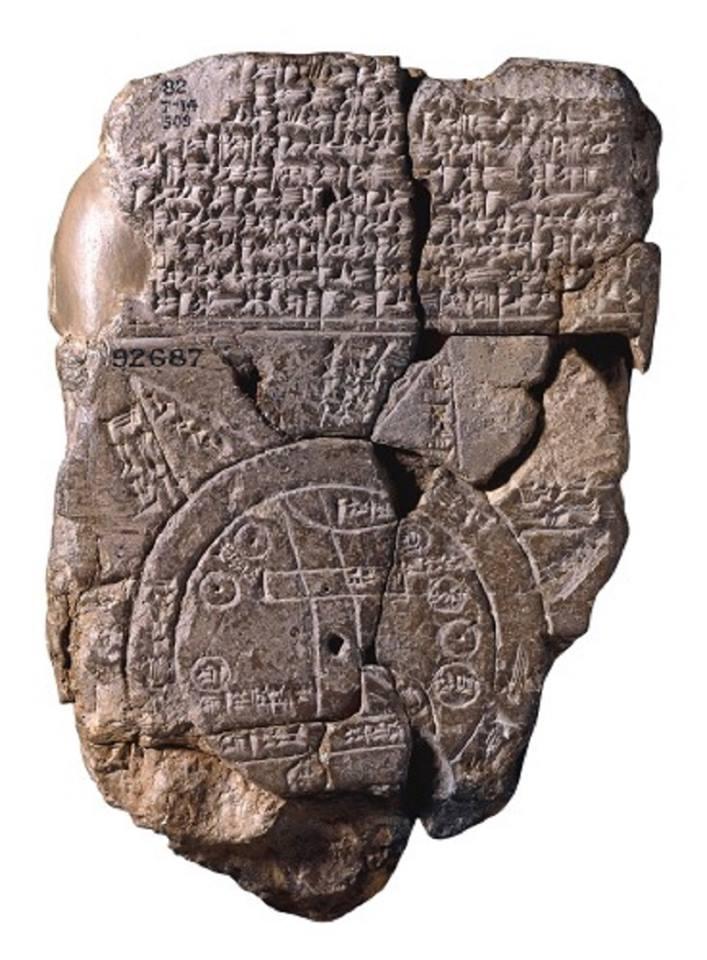 كهنترين نقشه از تمدن بابل
