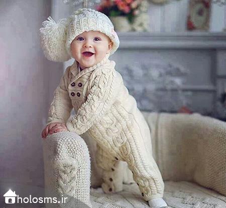 عکس بچه خوشگل - هلو اس ام اس - 3