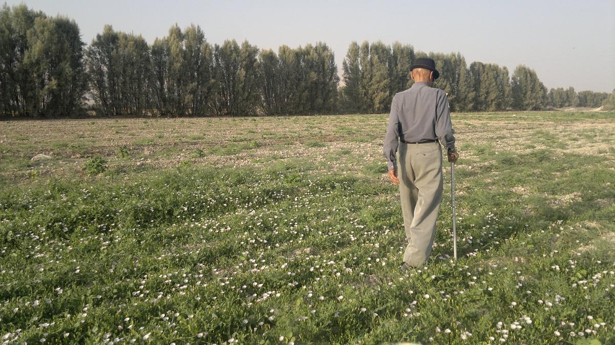 مرحوم حاج غلامحسن باقری - روستای پهرست سفلی