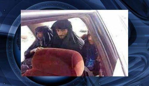عکس های جالب از دستگیری اعضای داعش با لباس زنانه , بین الملل