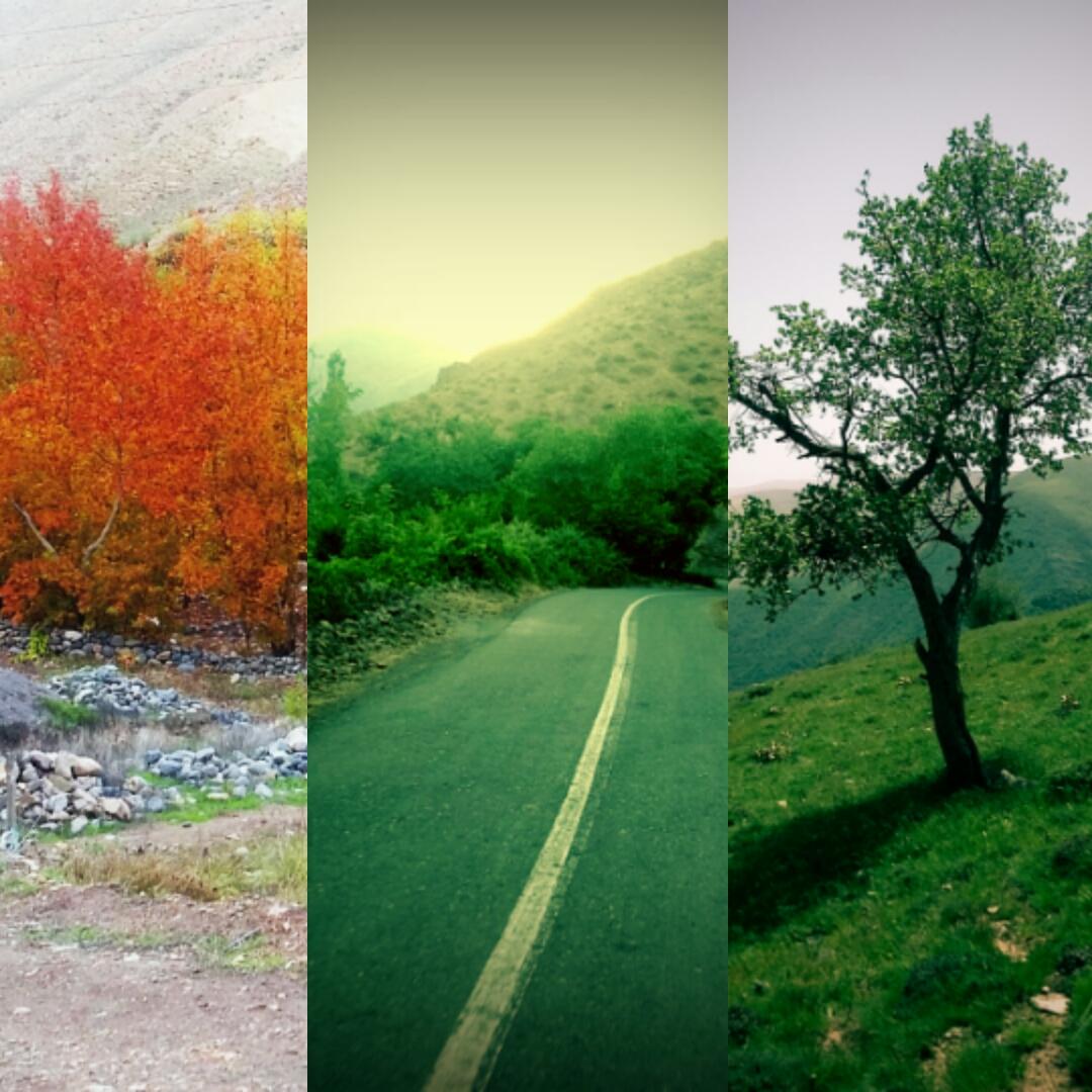 ترکیب طبیعت ..
