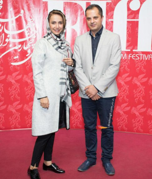 شبنم قلی خانی و همسرش در جشنواره جهانی فجر , عکس های بازیگران