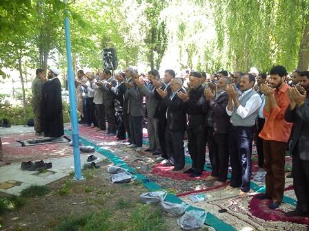 نماز عبادی سیاسی جمعه 3 اردیبهشت ماه95