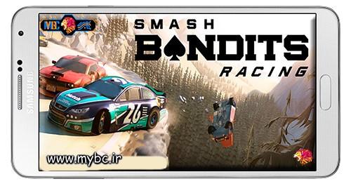 دانلود بازی Smash Bandits Racing 1.09.07 – اتومبیل رانی پلیسی برای اندروید + دیتا + پول بی نهایت