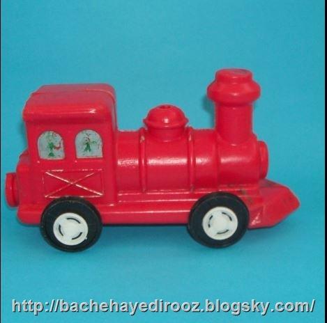 قطار اسباب بازی پلاستیکی