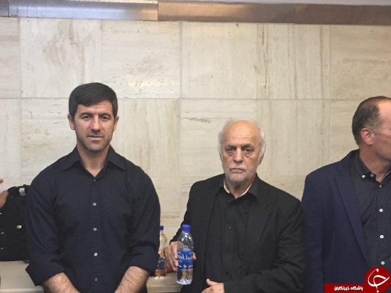 مراسم بزرگداشت مهرداد اولادی در تهران با حضور اهالی فوتبال+عکسها