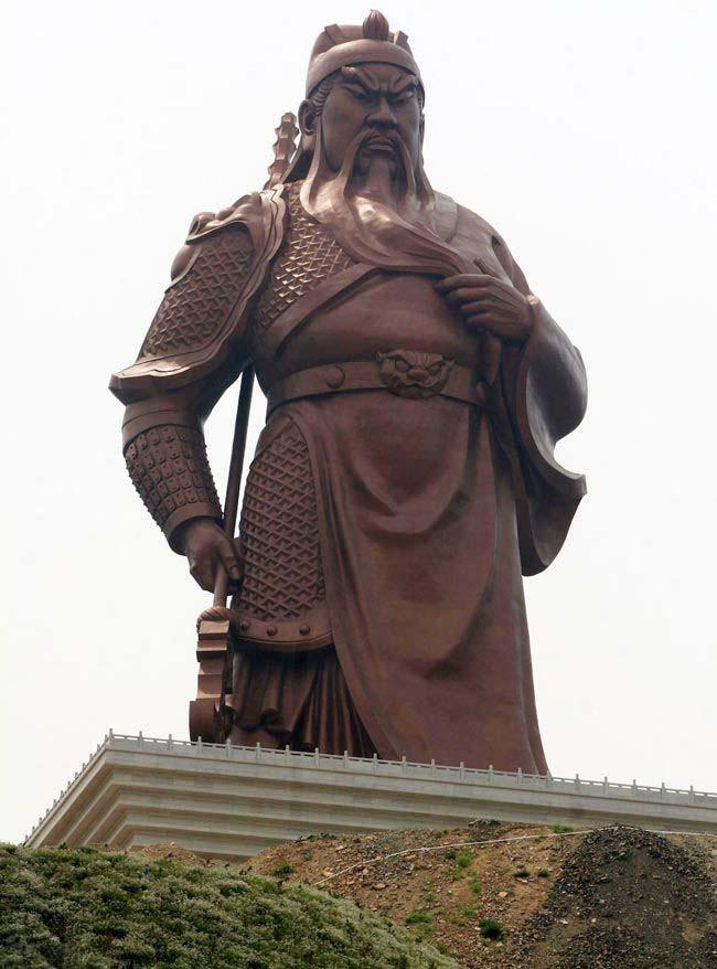 چین از بزرگترین مجسمه دنیا را رونمایی کرد , تصاویر دیدنی