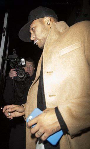 مستی نیمار در لندن + تصاویر , اخبار ورزشی