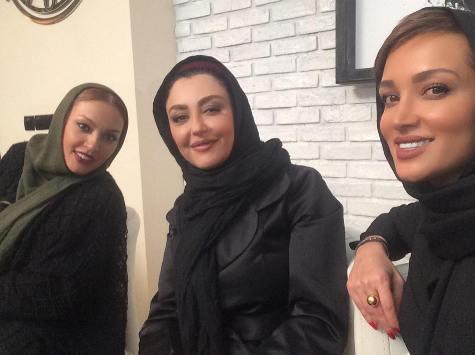 عکس روناک یونسی در کنار زیبا بروفه , عکس های بازیگران