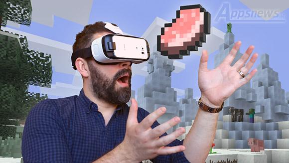 بازی Minecraft برای هدست واقعیت مجازی Gear VR عرضه شد