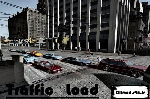 مد Traffic Load برای برطرف کردن مشکل تکراری بودن خودروها در GTA IV