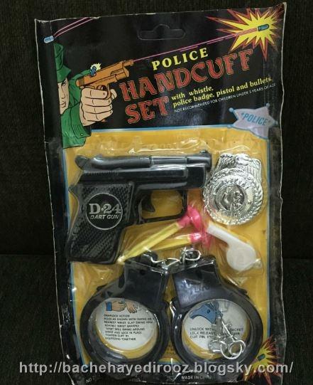 تفنگ اسباب بازی پلاستیکی