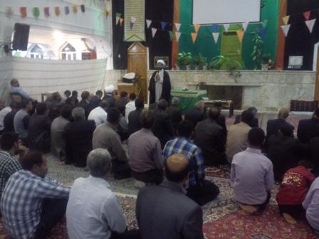 سخنرانی  امام جمعه قهدریجان در مسجد بلال