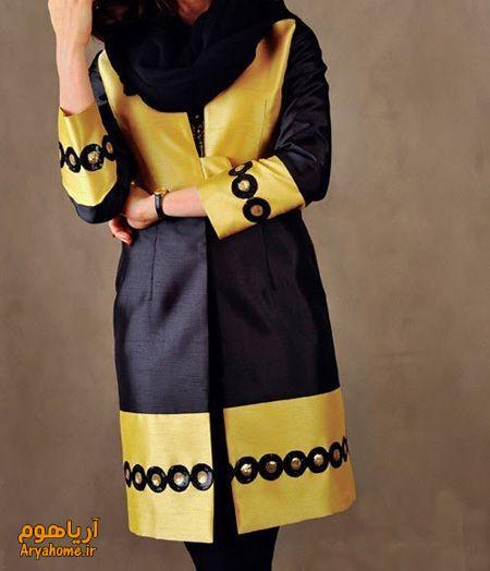 مدل های جدید و زیبا مانتو بهاره اردیبهشت 95 , مدل لباس