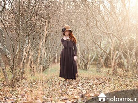 عکس دختر تنها - هلو اس ام اس - 3