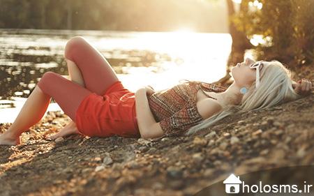 عکس دختر تنها - هلو اس ام اس - 4