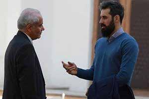 سعید معروف در کنار شیلا خداداد وعلی دایی , اخبار ورزشی