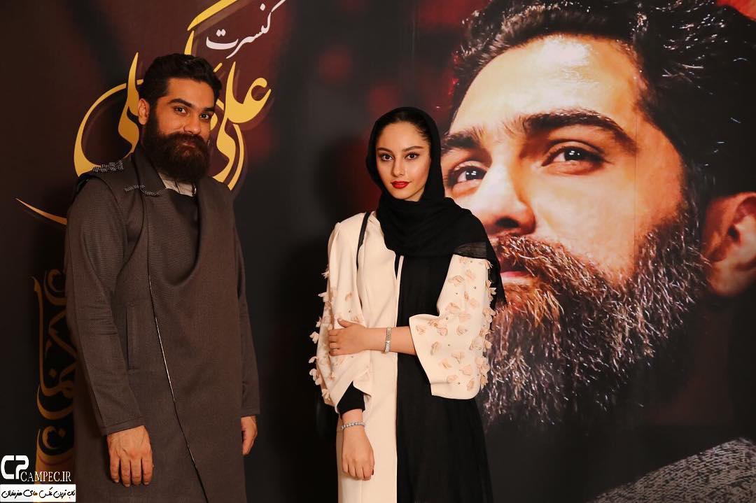 ترلان پروانه و علی زند وکیلی