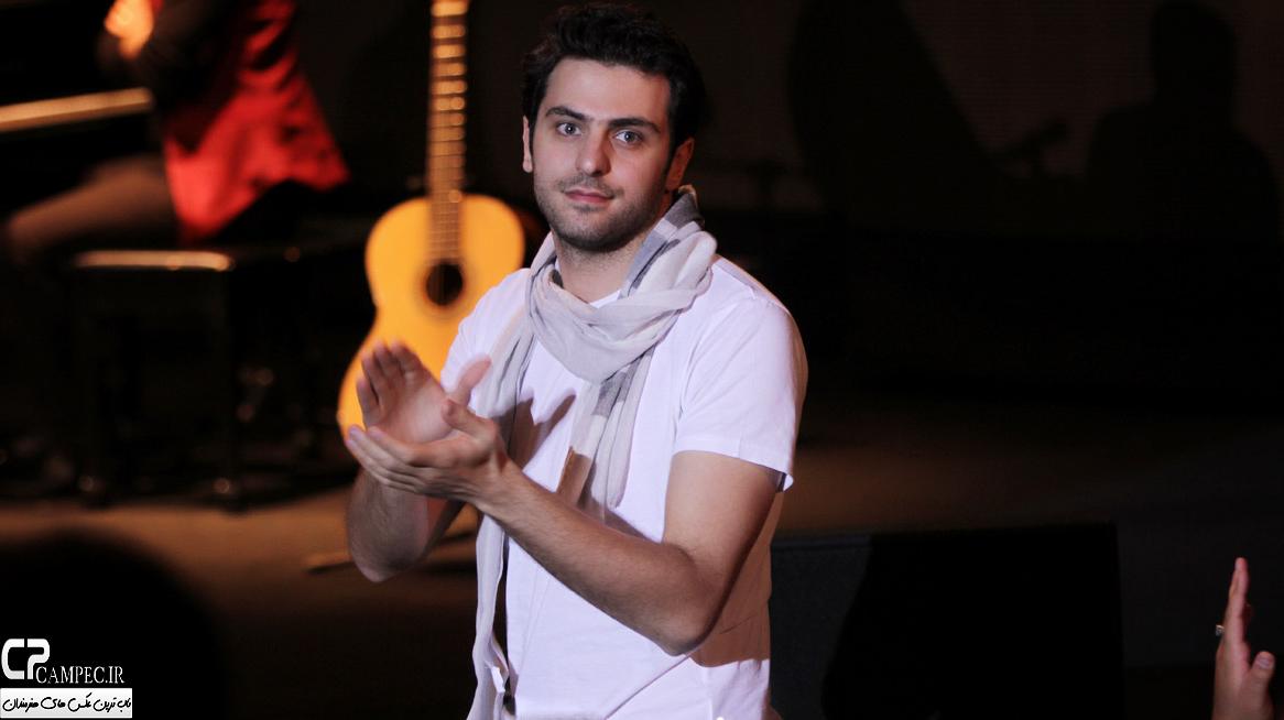 علی ضیاء در کنسرت علی زند وکیلی