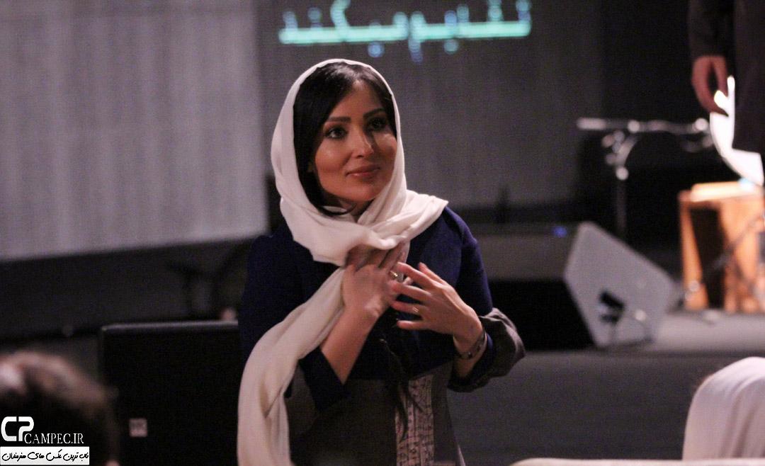 پرستو صالحی در کنسرت علی زند وکیلی