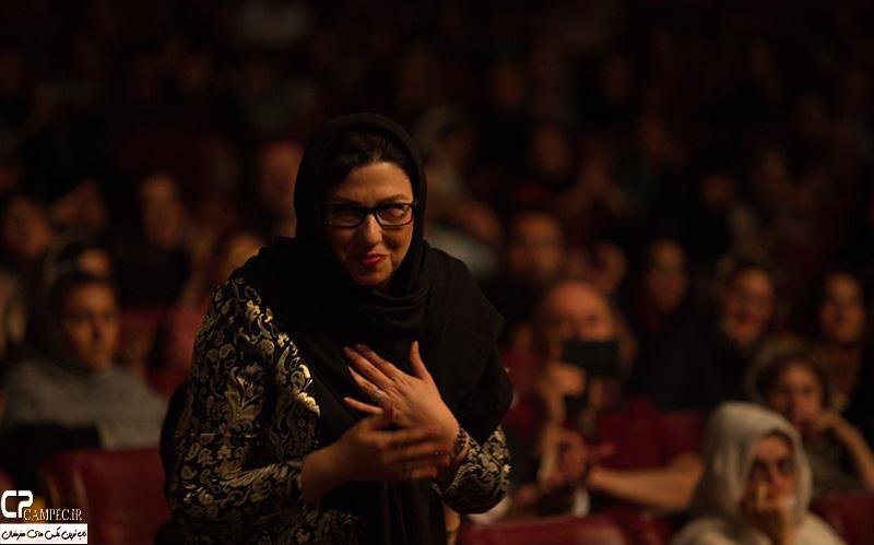 معصومه کریمی در کنسرت علی زند وکیلی