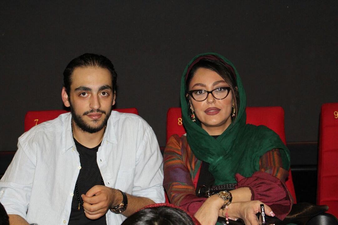 شقایق فراهانی و پسرش در پرديس سينمايي كورش