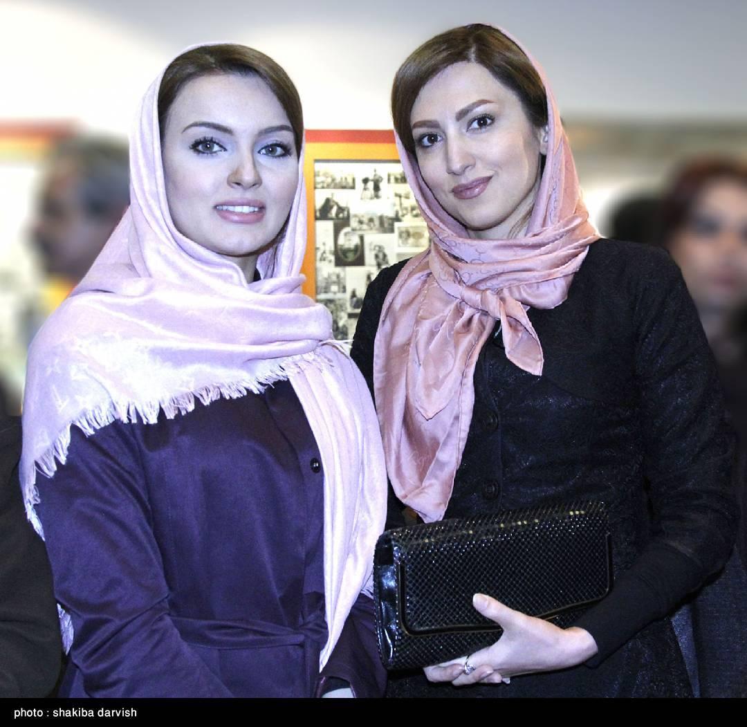 سمیرا حسینی و نیلوفر پارسا