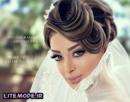 جدیدترین مدل گریم صورت,آرایش عروس 2016