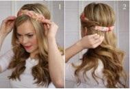 آموزش آرایش مدل موی جدید دخترانه خیلی شیک و زیبا