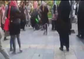 درگیری دختران اراذل در خیابان های تهران! , اجتماعی