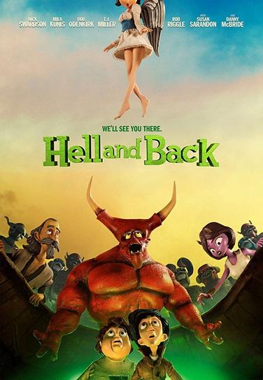 دانلود رایگان انیمیشن Hell and Back 2015
