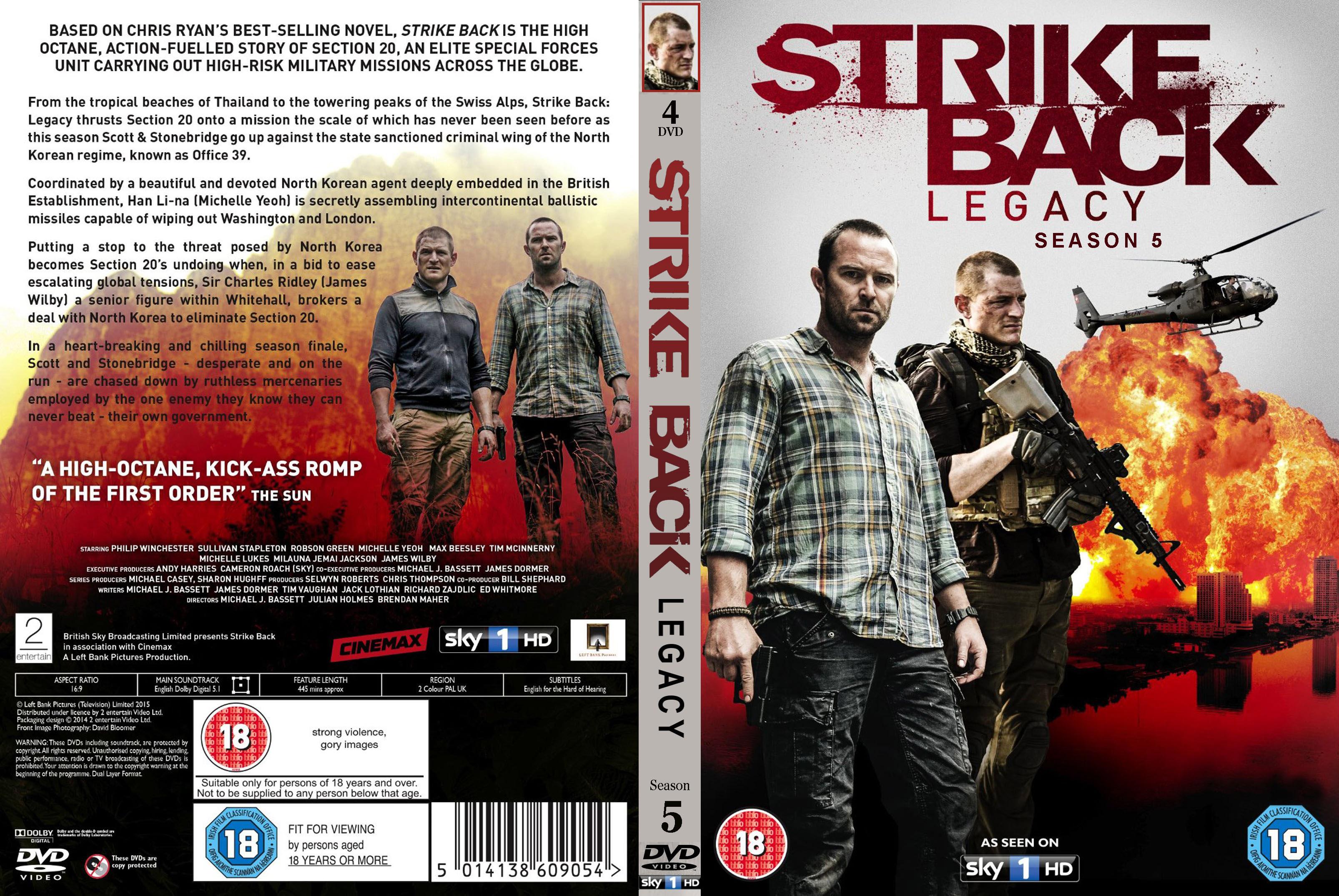 کاور فصل 5 سریال Strike Back