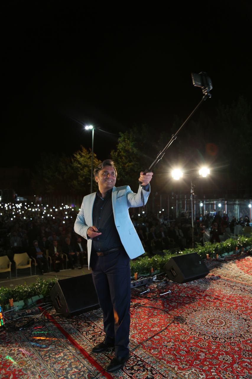 برنامه جشن بهارنارنج با حضور مجید اخشابی در بابل