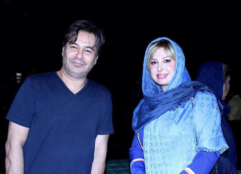 نیوشا ضیغمی و پیمان قاسم خانی در اکران فیلم خواب است پروانه