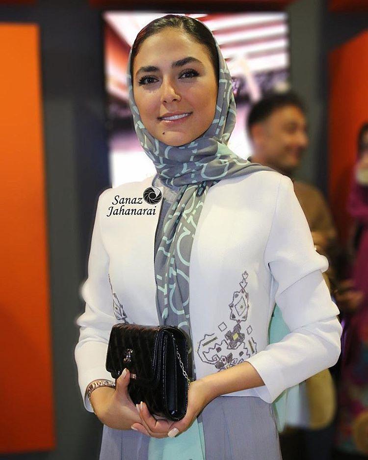 هدی زین العابدین در اکران فیلم خنده های آتوسا