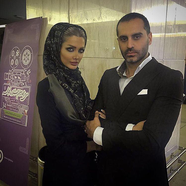 عکس جدید علیرام نورایی با همسرش