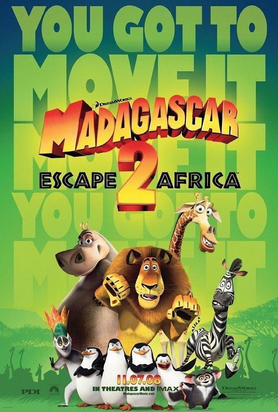 دانلود رایگان انیمیشن دوبله فارسی ماداگاسکار 2  2008