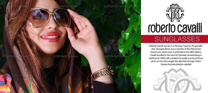 خرید اینترنتی عینک زنانه روبرتو کاولی Roberto Cavalli
