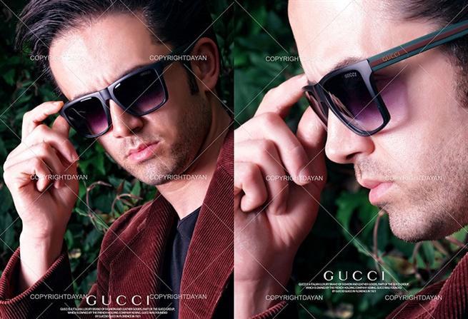 خرید اینترنتی عینک آفتابی مردانه گوسی Gucci