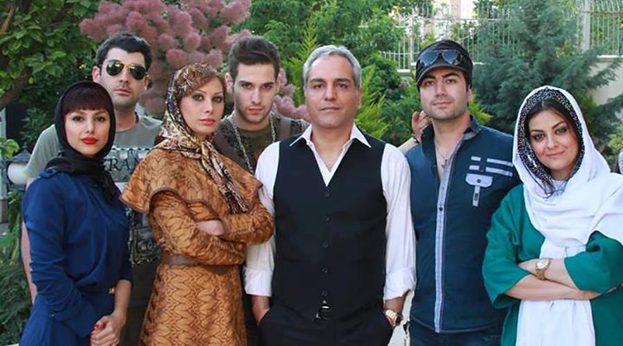 عکس کمتر دیده شده از مهران مدیری وهمسرش , چهره های ایرانی