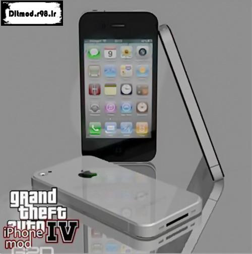 دانلود مد گوشی iPhone 4G برای Gta Iv