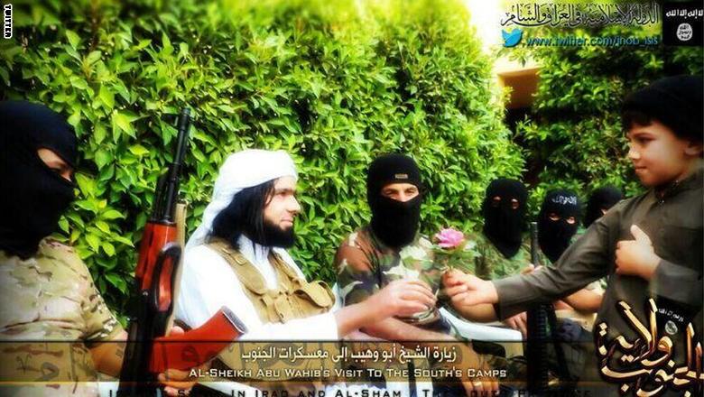 تصاویر رمبوی داعش پیش از کشته شدن , بین الملل