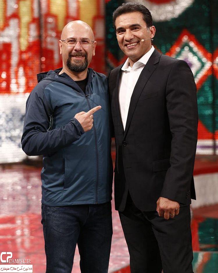 محمد بحرانی و احمد رضا عابدزاده در خندوانه